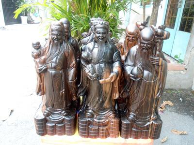 Tượng Phúc Lộc Thọ - Tam Đa