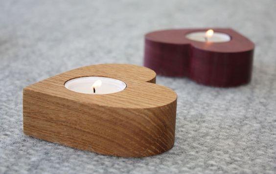 đế đèn cầy bằng gỗ