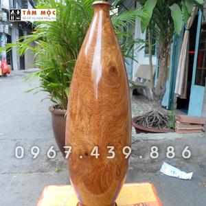 Bình gỗ trang trí gỗ hương đẹp
