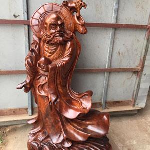 Tượng Sư Tổ Đạt Ma bằng gỗ