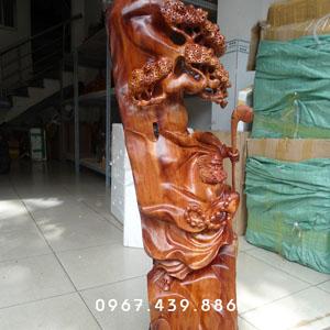 Tượng gỗ Đạt Ma Sư Tổ