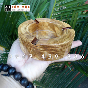 Gạt tàn thuốc gỗ nu nghiến