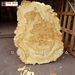 Tranh treo tường bằng gỗ nu nghiến