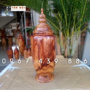 Bình gỗ cẩm lai