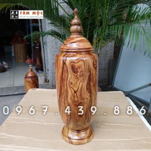 Bình gỗ cẩm Việt