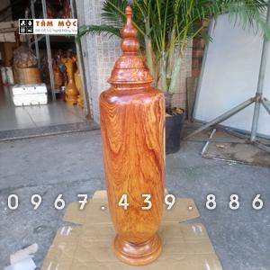 Chum trang trí bằng gỗ cẩm lai