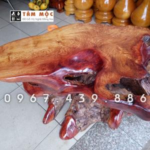 Đôn kê tượng bằng gỗ hương Việt (gỗ nhóm 1A)