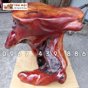 Đôn gỗ gốc cây bằng gỗ hương Việt