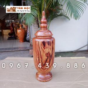 Bình gỗ cẩm