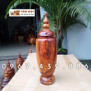 Chum trang trí gỗ cẩm lai