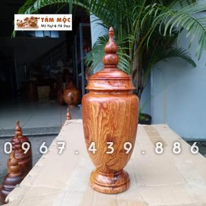 Lọ trang trí gỗ cẩm lai