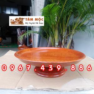 Dĩa gỗ thờ cúng gỗ hương Việt