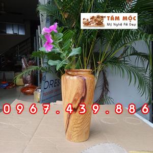 Bình cắm hoa gỗ cẩm lai