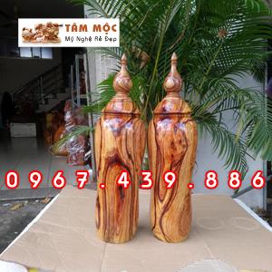 Cặp chum gỗ cẩm