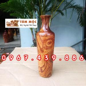 Chai gỗ cẩm lai