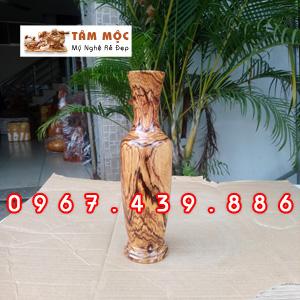 Chai gỗ trang trí gỗ cẩm