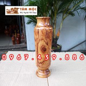 Chai gỗ trang trí gỗ cẩm lai