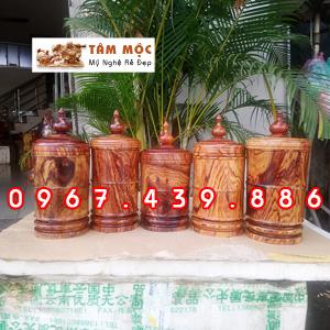 Hộp trà gỗ cẩm lai