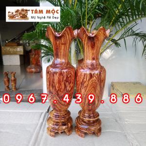 Lộc bình gỗ cẩm
