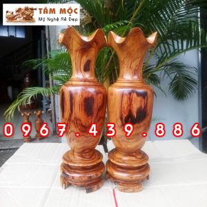 Lục bình gỗ cẩm