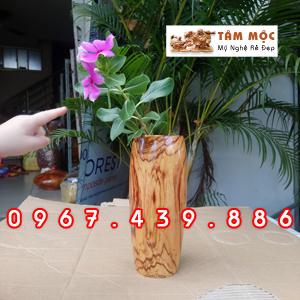 Ly cắm hoa gỗ cẩm lai
