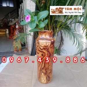 Ly gỗ cắm hoa gỗ cẩm