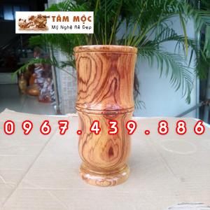 Ống bút gỗ cẩm lai