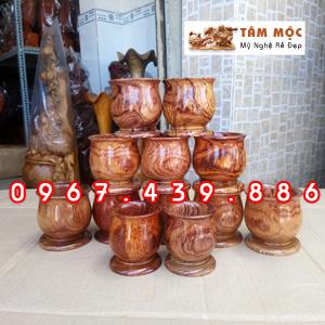 Ly gỗ cẩm lai
