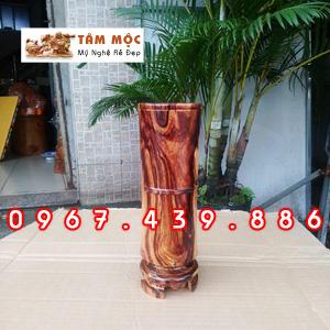 Ống cắm nhang gỗ cẩm lai