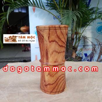 Ống cắm bút gỗ cẩm