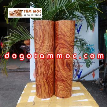 Trụ gỗ cẩm chỉ vân đẹp
