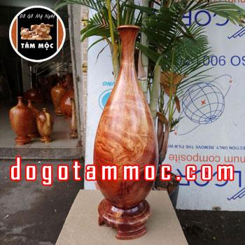 Bình hoa gỗ hương