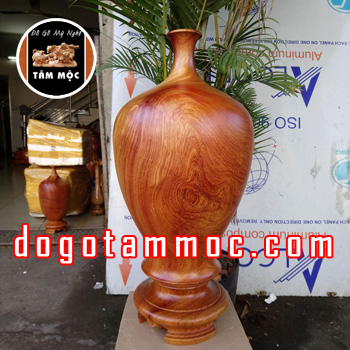 Chum hút tài lộc bằng gỗ hương Việt đẹp độc lạ