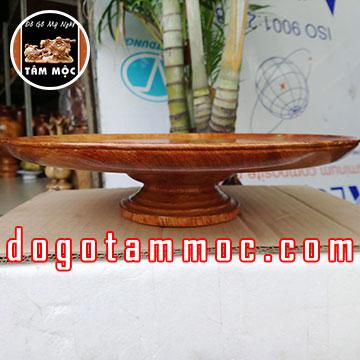 Dĩa thờ cúng bằng gỗ hương Việt đẹp