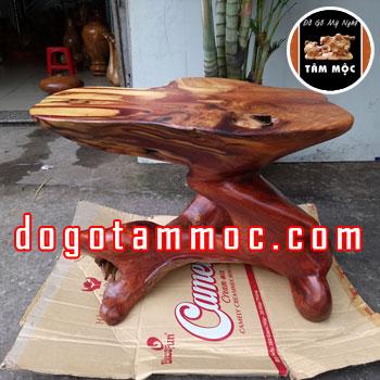 Ghế đôn bằng gỗ hương Việt