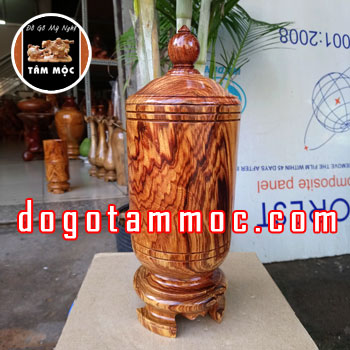Hộp trà gỗ cẩm chỉ Việt