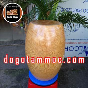Ghế đôn gốc cây bằng gỗ pơ mu