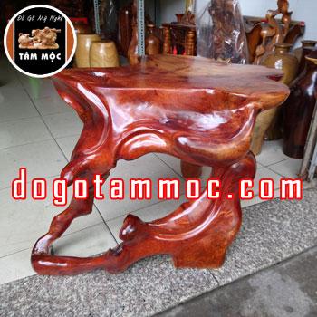 Ghế đôn gốc cây gỗ hương Việt