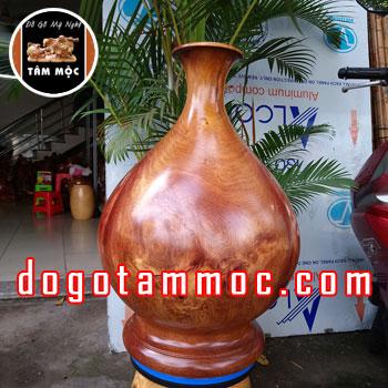 Lục bình phong thủy tài lộc gỗ nu hương Việt siêu khủng
