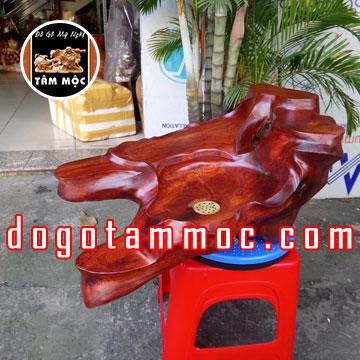 Khay trà gỗ hương Việt tự nhiên đẹp