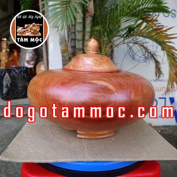 Thố gỗ hương Việt đa dụng
